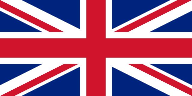Englische Flagge steht als Bild für die englische Übersetzung von Kuscheldecke