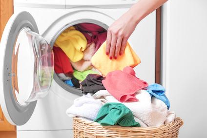 Kuscheldecke in Waschmaschine waschen